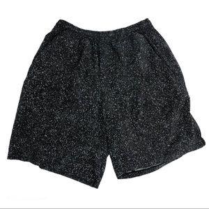 LuluLemon Men's Speckled Shorts.